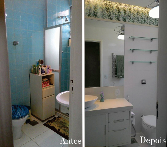 Dicas e cuidados na hora de reformar o banheiro  Sou Méier -> Banheiro Simples Reforma