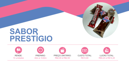 geladinho gourmet prestigio foto